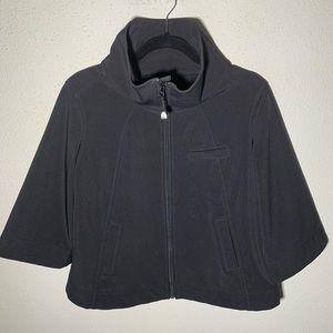 LULULEMON Womens Medium Zip Up Cape Jacket